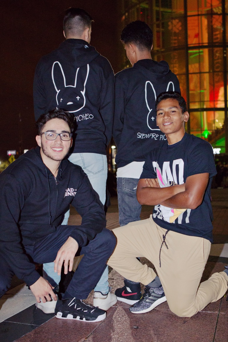 414d98217e Fans at Bad Bunny's concert came dressed as boldly as their fave ...