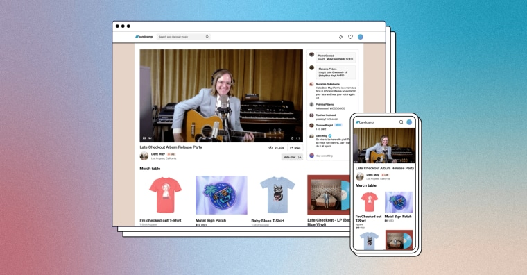 Bandcamp rolls out ticketed live streaming for artists