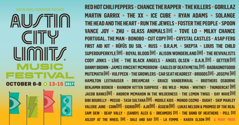 Chance The Rapper, Solange, Gorillaz, And More To Play Austin City Limits 2017