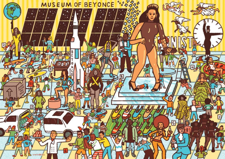 This Illustrated Book Is Like Where's Waldo? But With Beyoncé