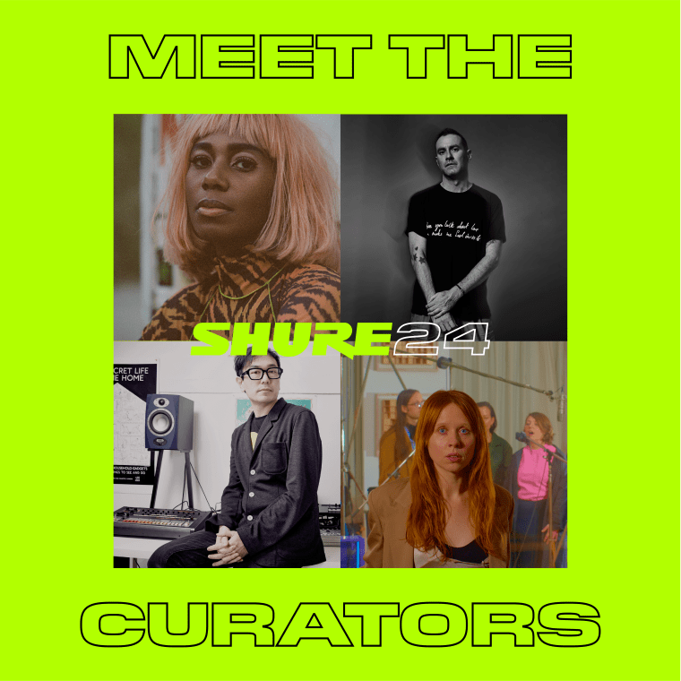 Holly Herndon, Santigold, James Lavelle and Yuri Suzuki to curate new artist platform Shure24