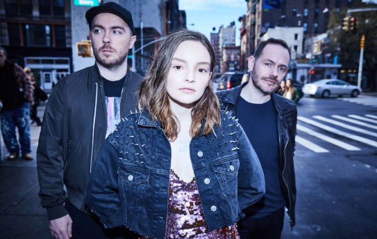 "Listen to a new CHVRCHES song, ""Never Say Die"""