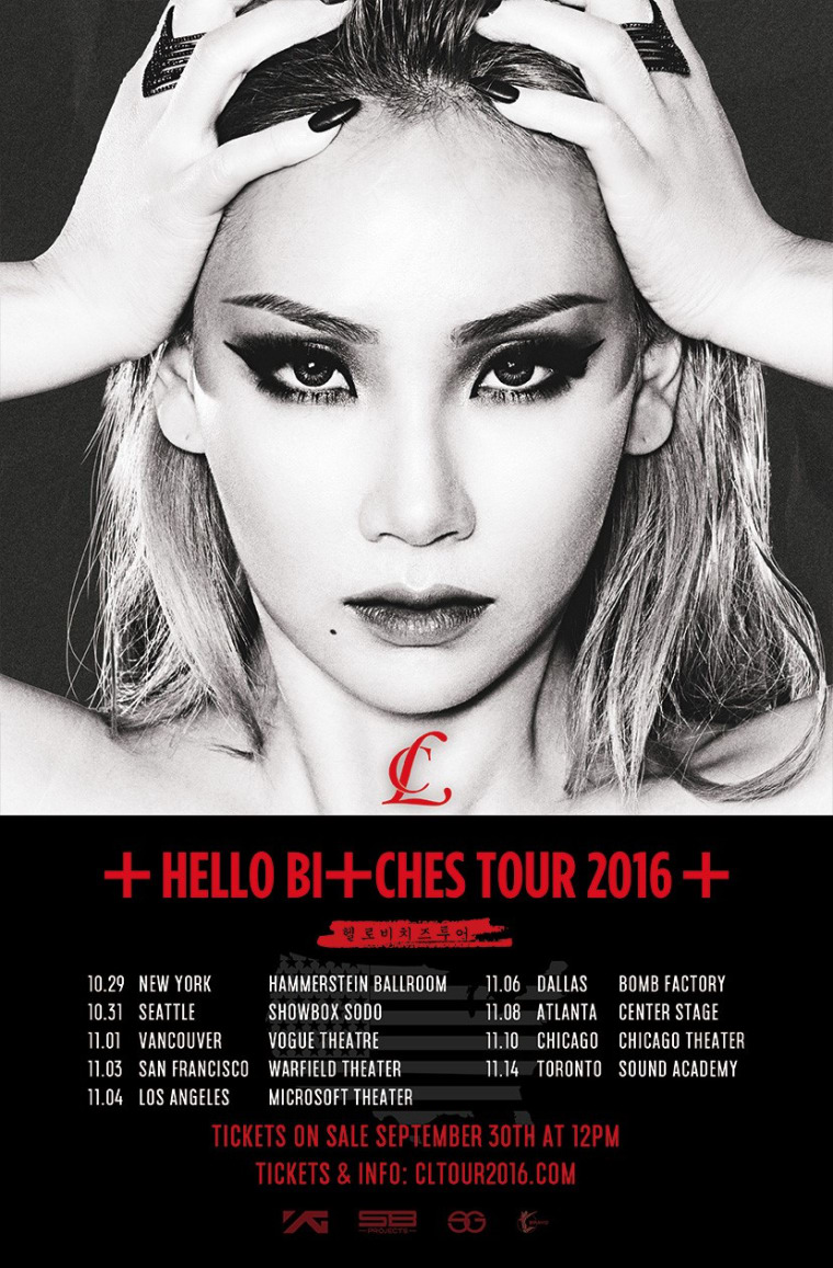 CL Announces Hello Bitches North American Tour