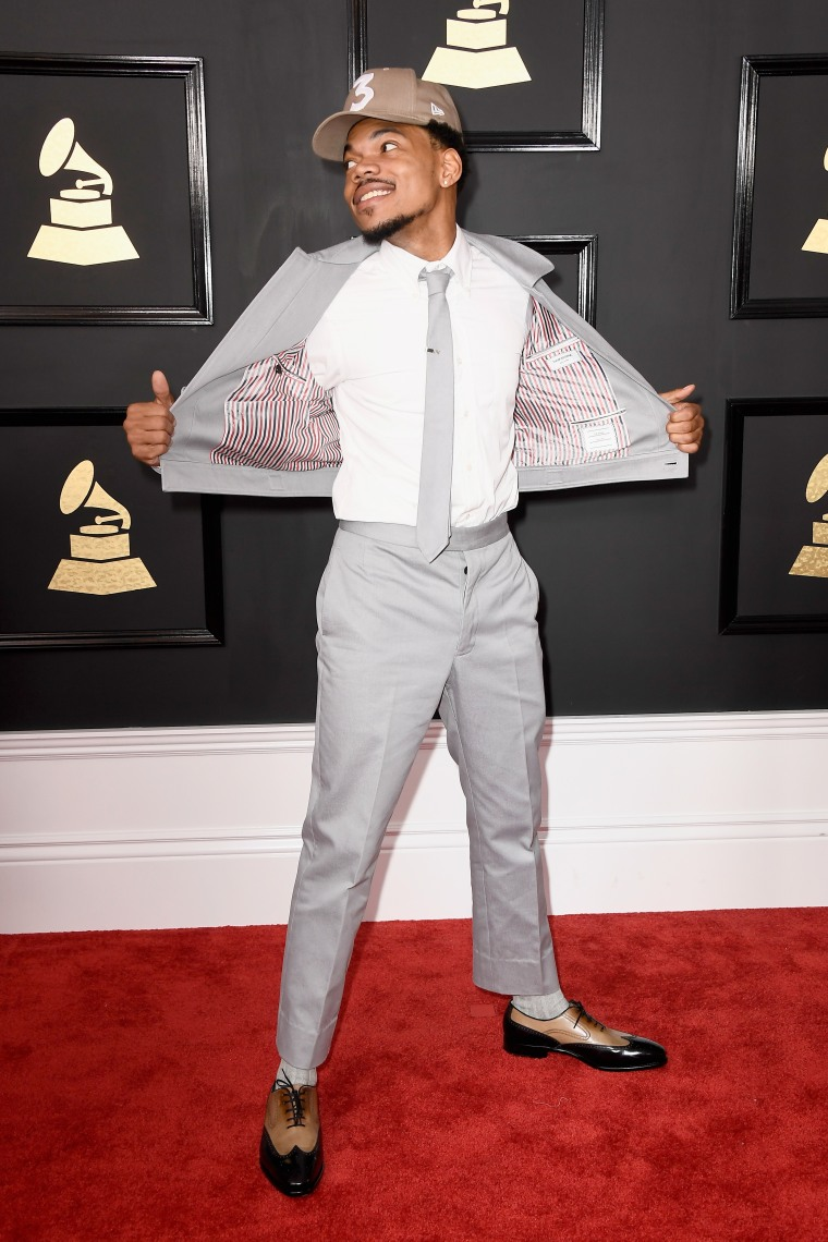 Chance The Rapper Was The Best Dressed Dude At The 2017 Grammys