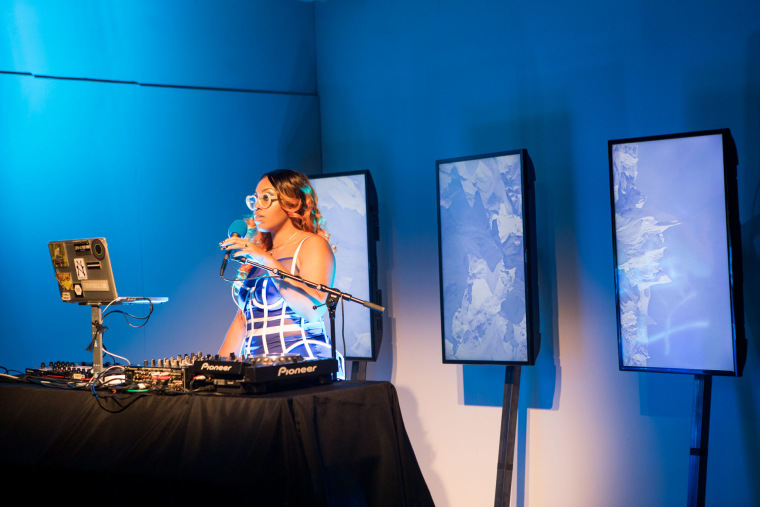 Listen to Suzi Analogue's radiant live score for Chromat's SS18 collection