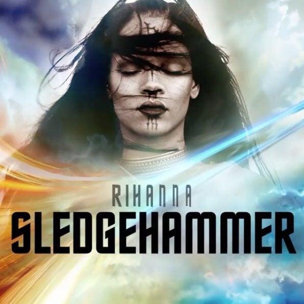 """Listen to Rihanna's Epic New Single """"Sledgehammer"""""""