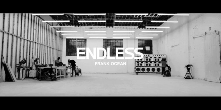 Frank Ocean Releases <i>Endless</i> Visual Album
