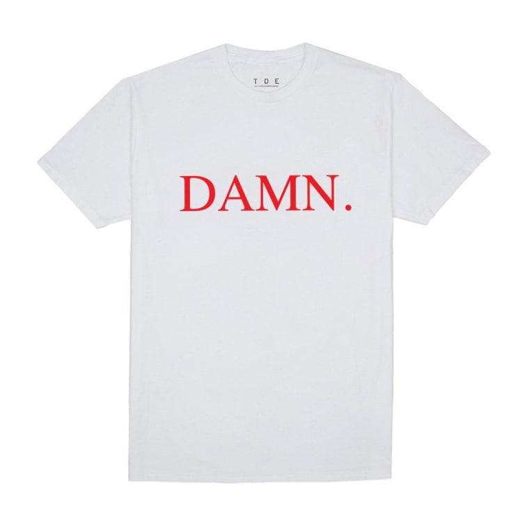 TDE Released <i>DAMN.</i> Merch To Celebrate Kendrick Lamar's Latest Album