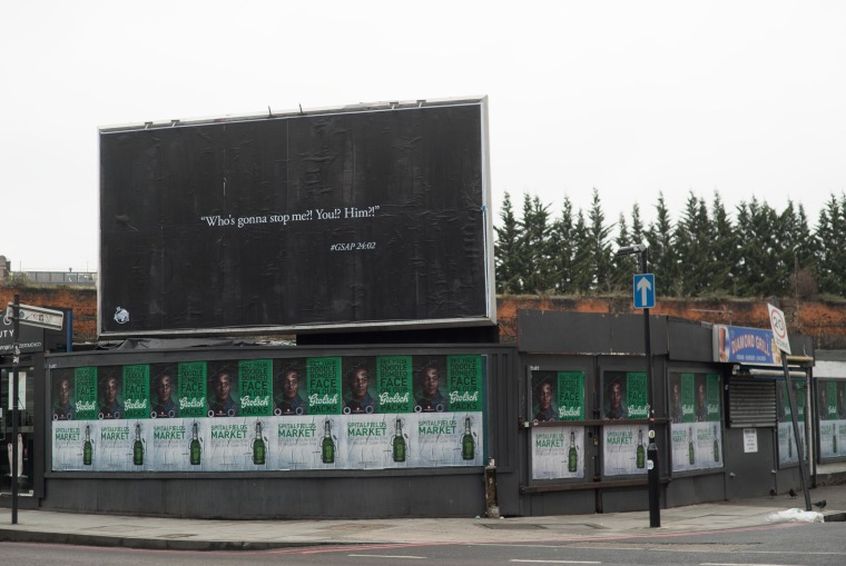 Stormzy Is Teasing Something New On Billboards Across London