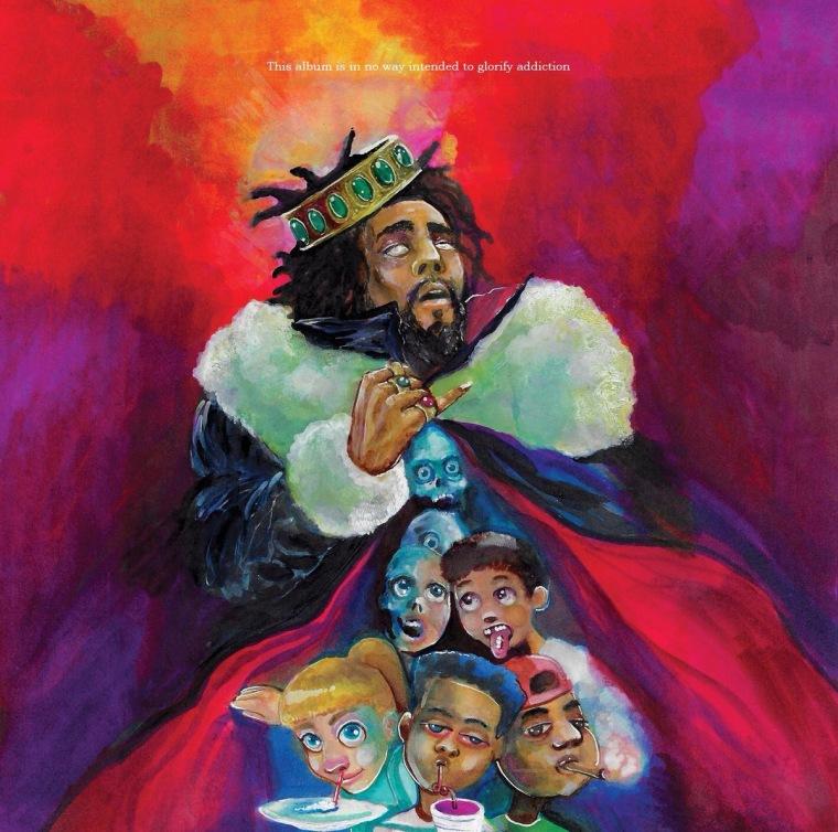 J. Cole's new album KOD is here