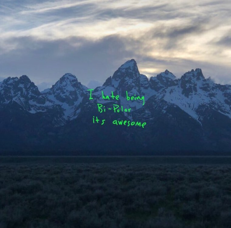 Kanye West shot the <I>ye</i> cover on his iPhone