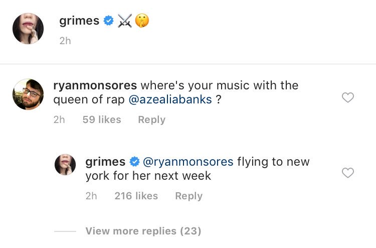 Azealia Banks and Grimes confirm collaboration plans