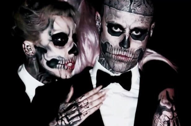 Lady Gaga apologizes for inaccurately tweeting about cause of Rick Genest's death