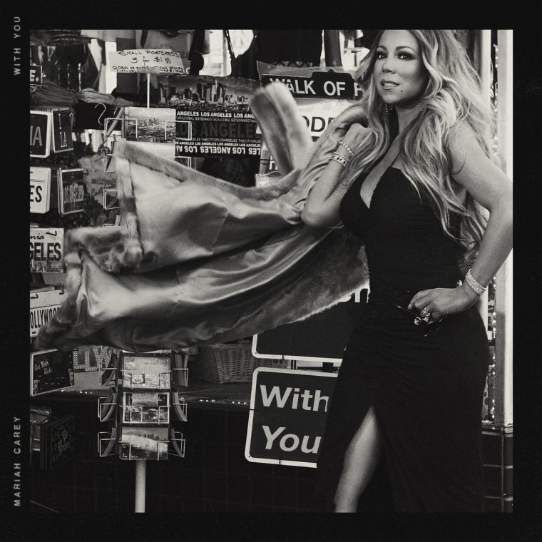 "Hear Mariah Carey's new ballad ""With You"""