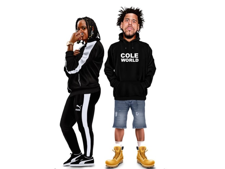 """Rapsody and J. Cole link up for new track """"Sojourner"""""""