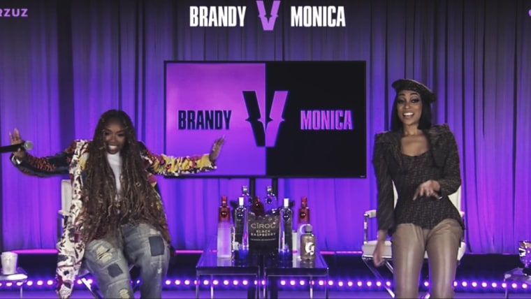 Here's what happened in Brandy and Monica's Verzuz battle