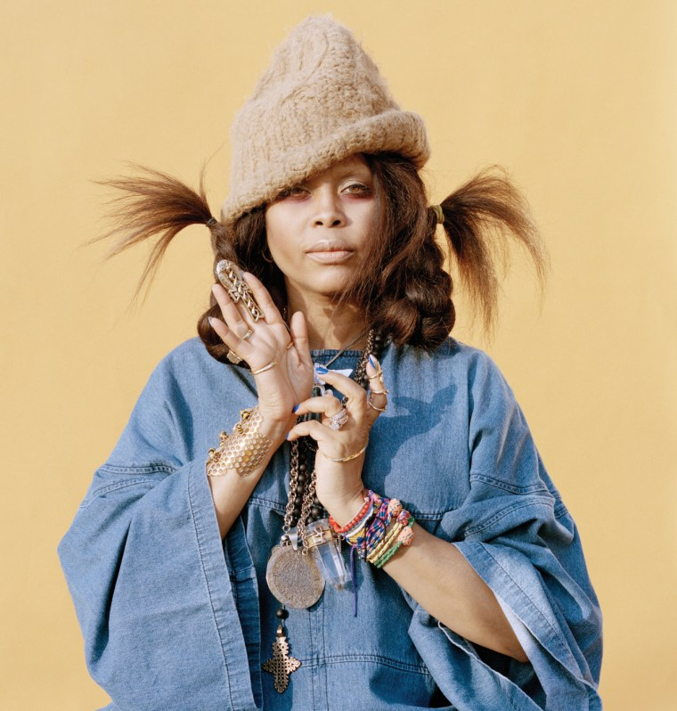 "Erykah Badu Snapped On This Remix Of Wintertime's ""Thru It All"""