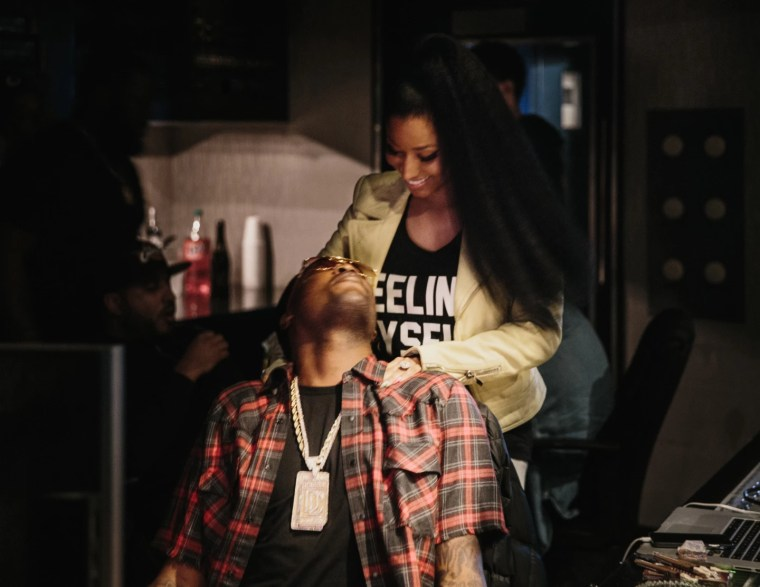 "Nicki Minaj and Chris Brown Join Meek Mill For ""All Eyes On You"""
