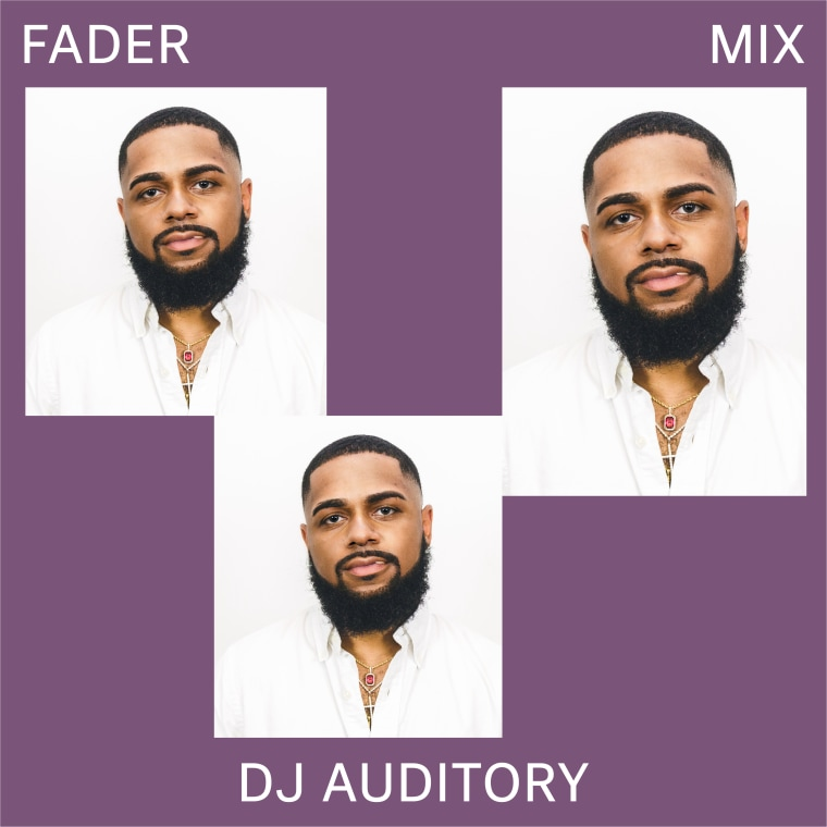Listen to a new FADER Mix by DJ AudiTory