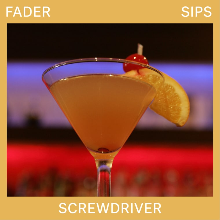 When it comes to vodka cocktails, it's hard to go past a Screwdriver