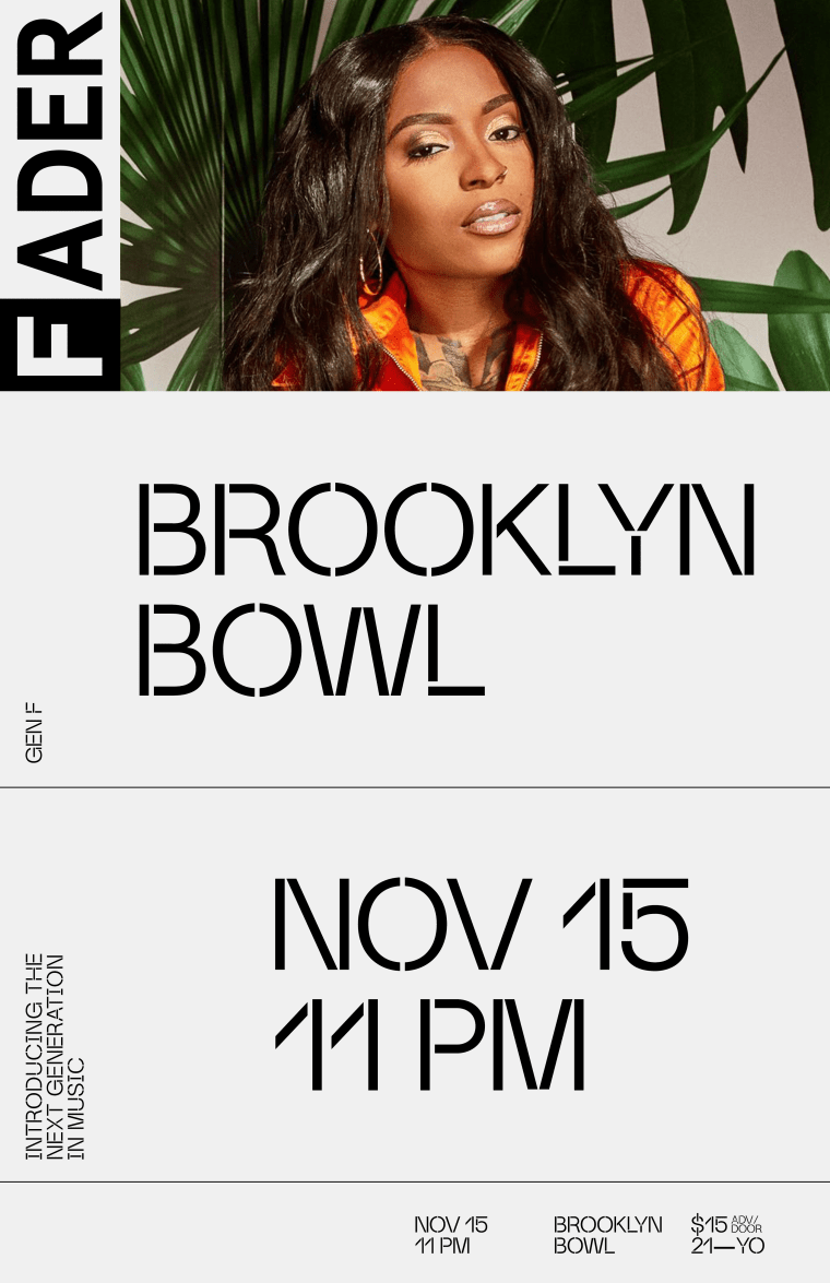 The FADER and Brooklyn Bowl are launching a GEN F concert series