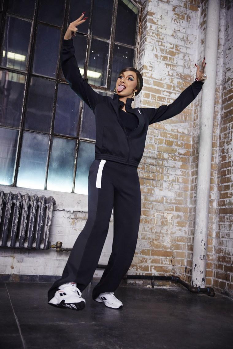Reebok announces Cardi B sneaker collab