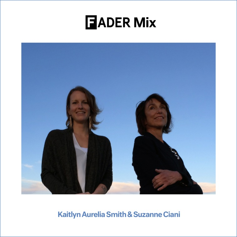 FADER Mix: Kaitlyn Aurelia Smith & Suzanne Ciani