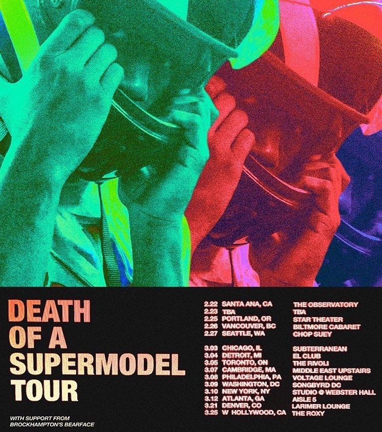 Kevin Abstract Announces Death Of A Supermodel Tour