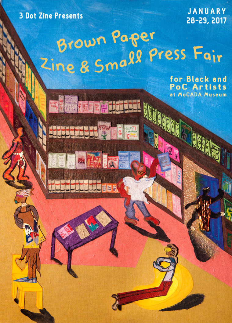 This New Zine Fair Celebrates The Work Of Black And POC Artists