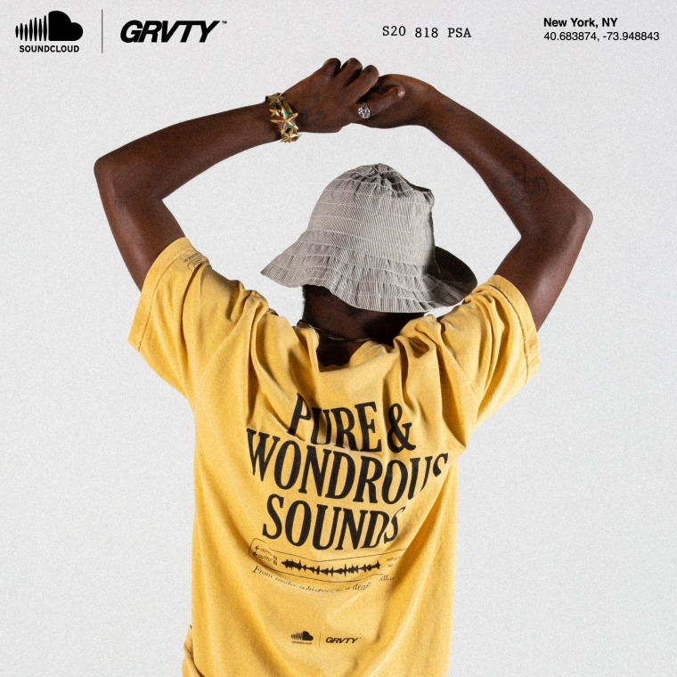 SoundCloud and GRVTY team for new fashion collection