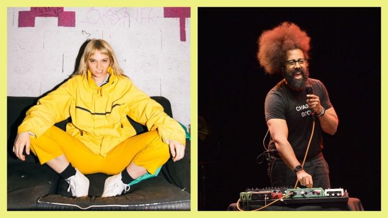Reggie Watts remixed a Cherry Glazerr song