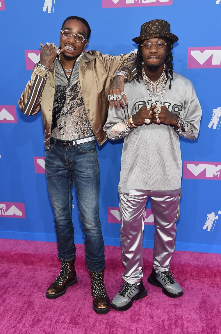 Quavo and Offset brought the uncle tip to the VMA red carpet