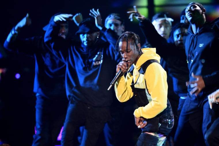 Watch Travis Scott perform an <i>ASTROWORLD</i> medley at the VMAs
