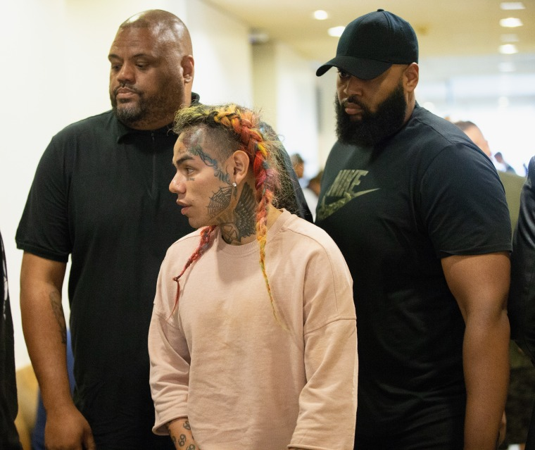 Report: Tekashi 6ix9ine arrested on firearms and racketeering charges