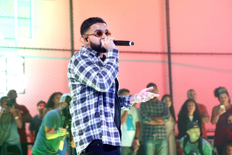 NAV has the No. 1 album in the country