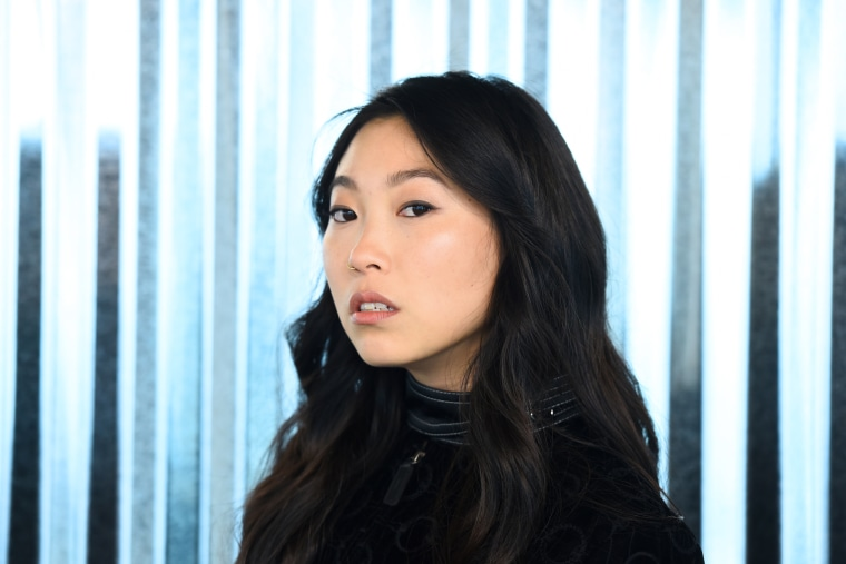 Awkwafina paid homage to Lucy Liu during her Saturday Night Live opening monologue