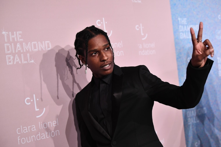 A$AP Rocky returns to the U.S. following time in Swedish jail