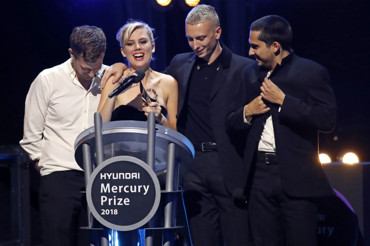 "Wolf Alice collect ""dream-like"" 2018 Mercury Prize"