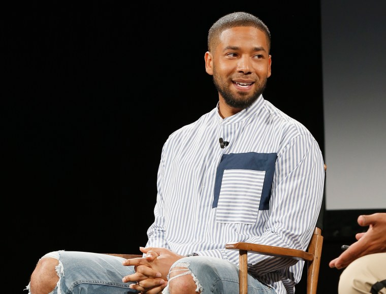 "Jussie Smollett's family issue statement: ""this was a racial and homophobic hate crime"""