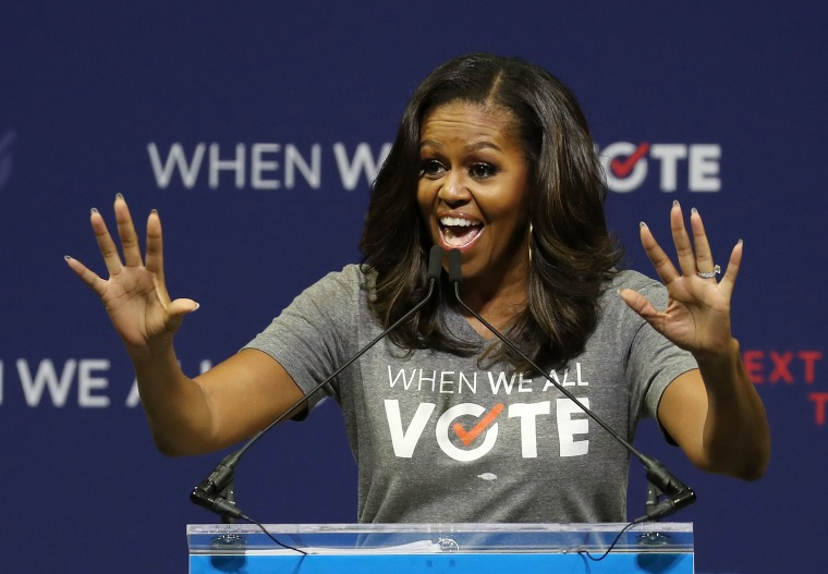 """Michelle Obama: """"voting is the only way to ensure that your concerns matter...PERIOD."""""""