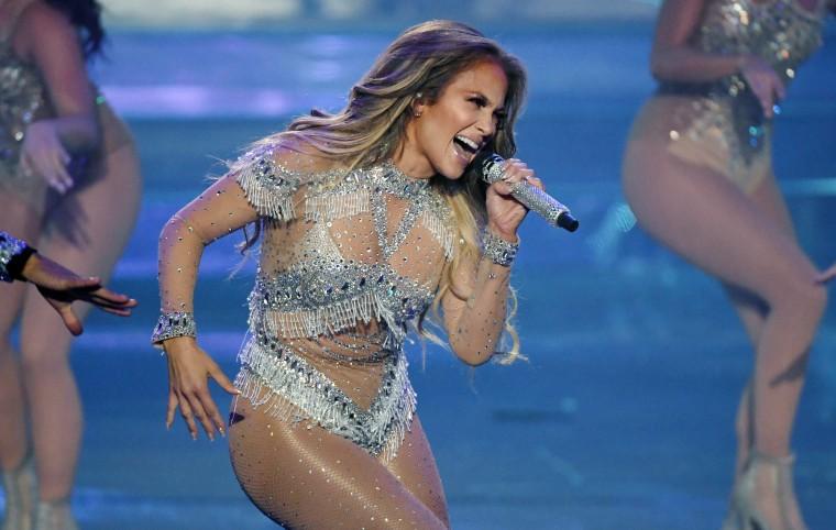 Watch Jennifer Lopez, Shakira, Bad Bunny, and J Balvin perform at the Super Bowl