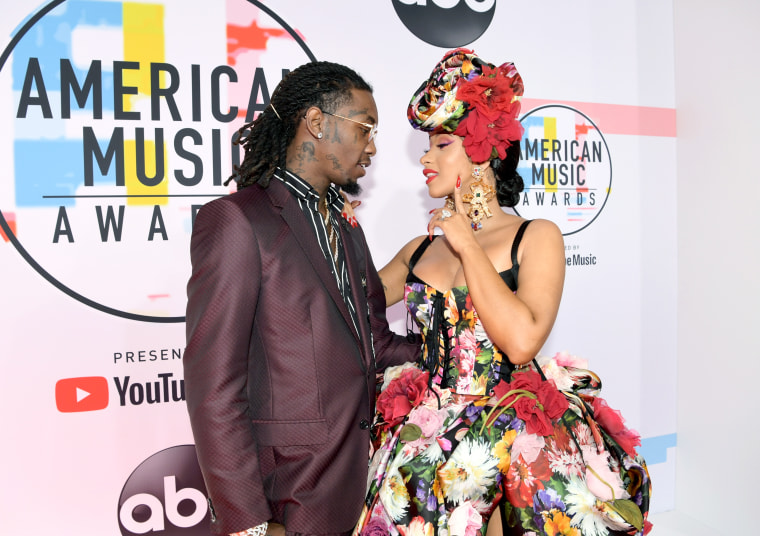 Cardi B Rejects Offset On Stage at Rolling Loud