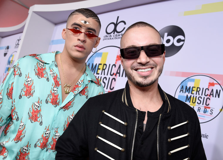 Bad Bunny and J Balvin drop surprise album <i>Oasis</i>