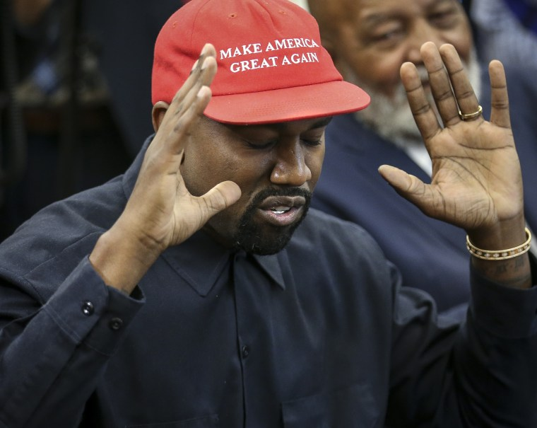 Report: Kanye West talks Trump and not being allowed to speak on Drake in new Letterman interview