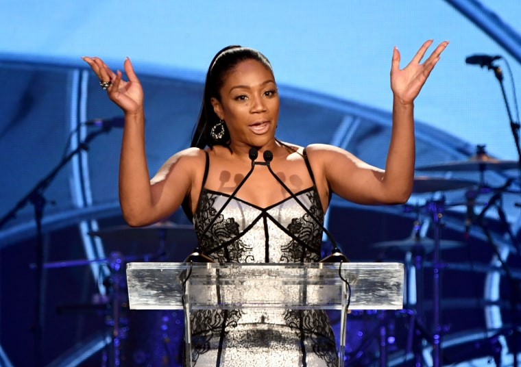 Tiffany Haddish apologized for a disastrous New Year's Eve show