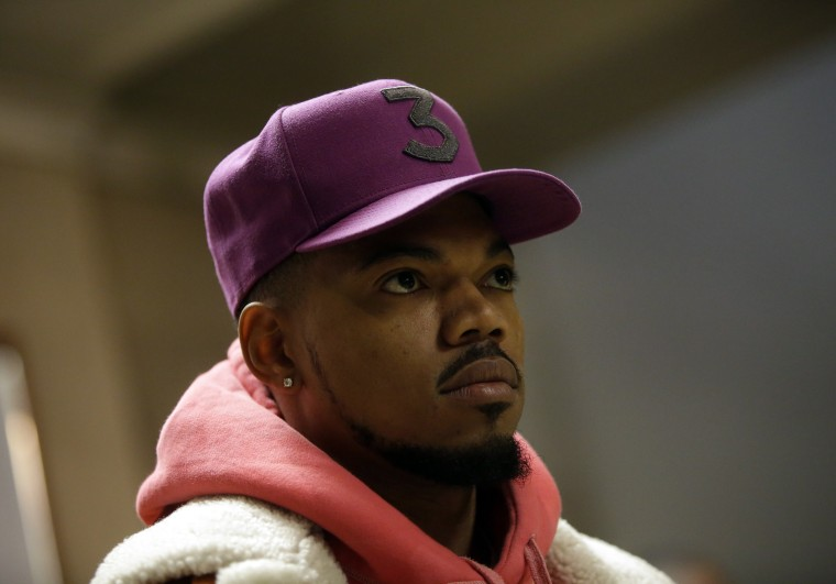Chance the Rapper, please eat a vegetable