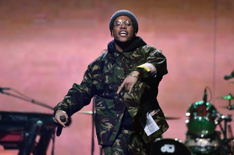"""Anderson .Paak says he's recorded """"a bunch of stuff"""" with Chance The Rapper"""