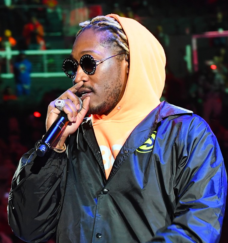 "Future on former collaborator R  Kelly: ""Man, who is that?"" 