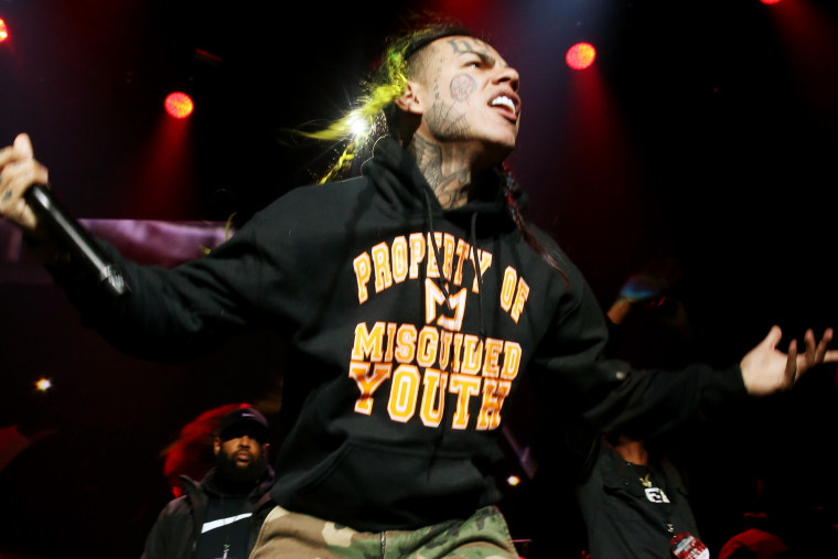 Report: Fashion Nova is suing 6ix9ine for $2.25 million