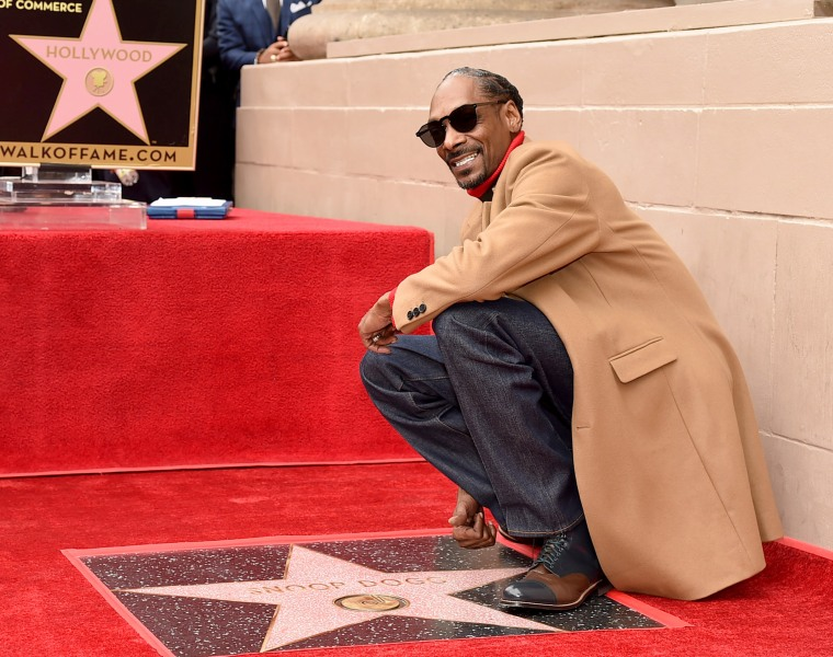 Resultado de imagen para snoop dogg hollywood star